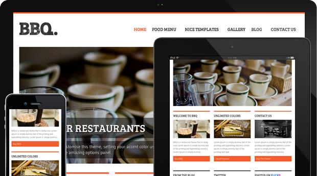 Bbq The Perfect Restaurant Theme Nicethemes